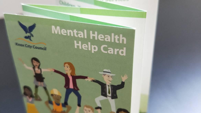 Mental Health Help Card