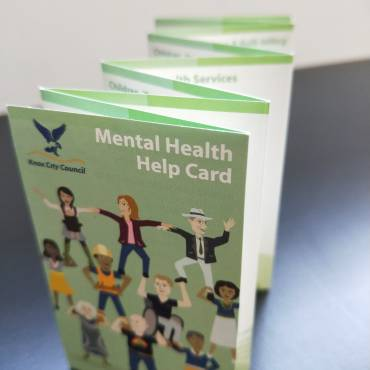 Mental Health Help Card